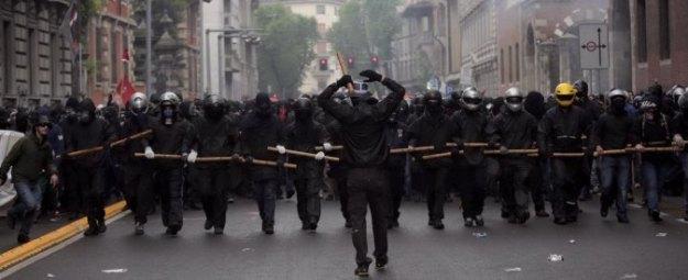 Black Bloc in Milan