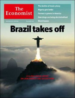 """""""Brazil Takes Off"""" in The Economist"""