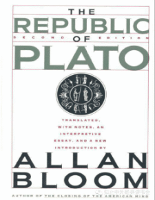The Republic by Allan Bloom