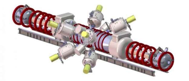 Tri Alpha Energy Fusion reactor
