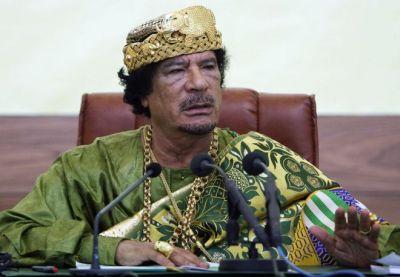 Mummar Gaddafi