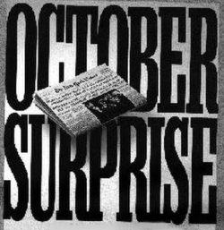 October surprise