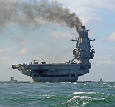Russian aircraft carrier Admiral Kuznetsov