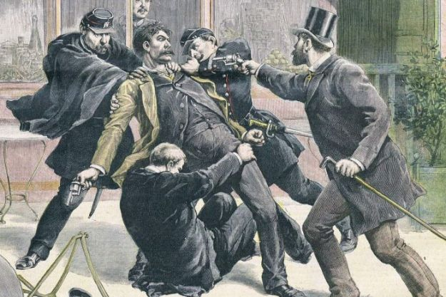 Arrest of Ravachol in 1891.