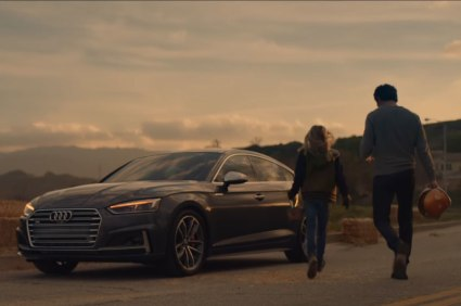 Audi Superbowl advertisement