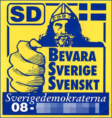 Poster of Sweden Democrats