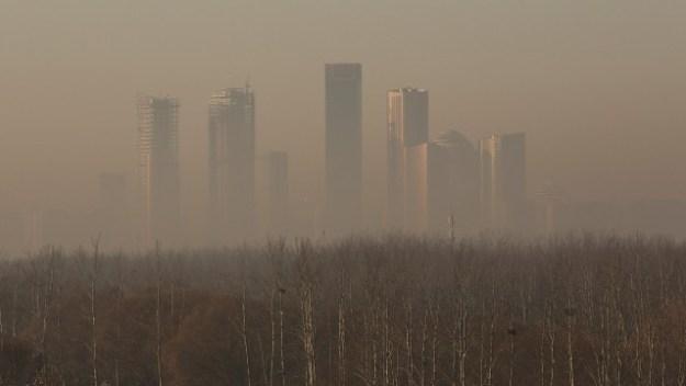 China environment display