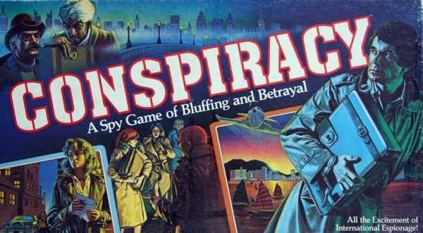 Cover of Conspiracy: a spy game of bluffing and betrayal