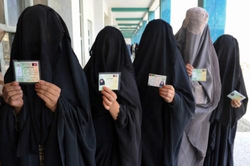 Afghanistan Women in the Burka