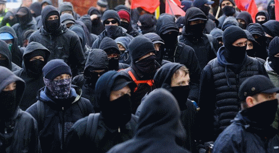 Black Masked Mob