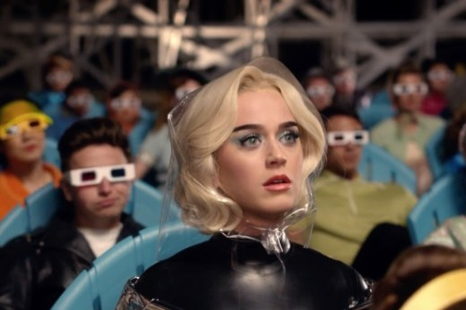 "Katy Perry in ""Chained to the Rhythm"""