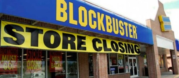 Blockbuster store closing