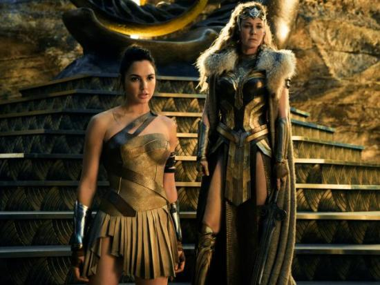Wonder Woman and Queen Hippolyta