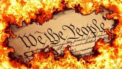 Burning Constitution