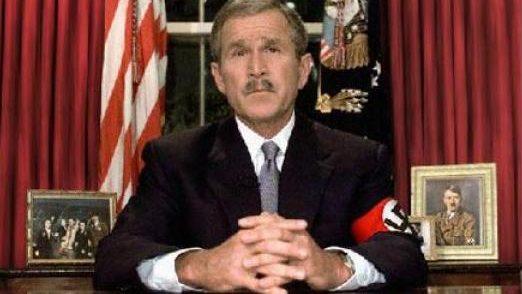 Bush as Hitler