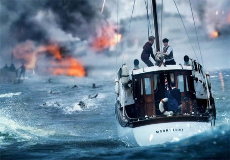 "Boat at sea in ""Dunkirk"" (2017)"
