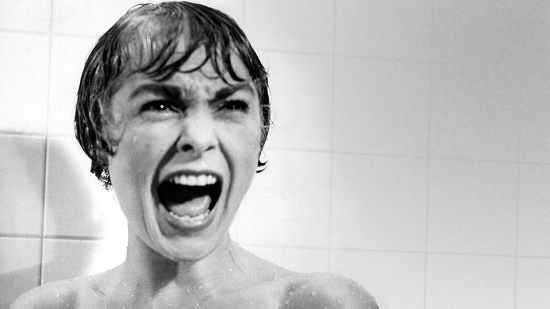 """Janet Leigh in """"Psycho"""""""