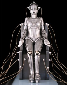 "Robot Woman in ""Metropolis"""
