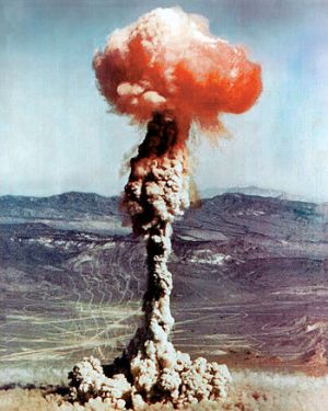 Buster Jangle atomic explosion