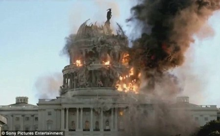 US capitol under attack