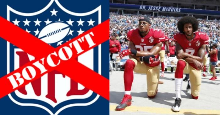 NFL Boycott vs Protest