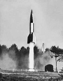 V-2 rocket launching