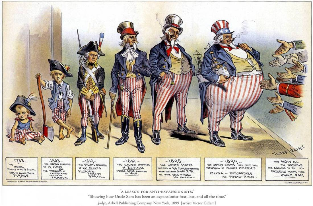 History of American imperialism