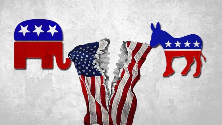 Political-polarization in America