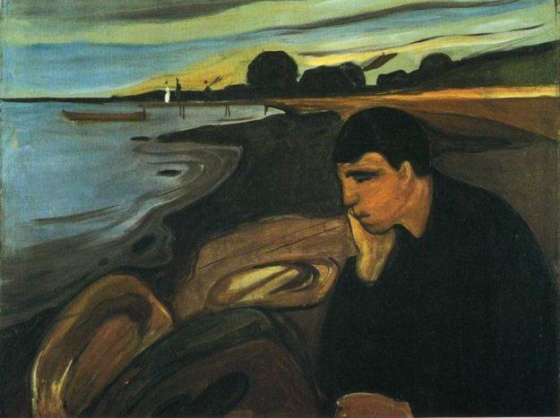 Melancholy by Edvard Munch (1894)