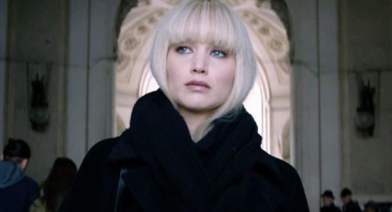 "Jennifer Lawrence in ""Red Sparrow"""