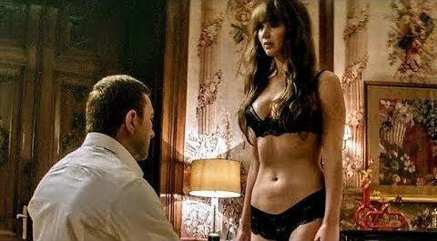 Red Sparrow - hot scenes