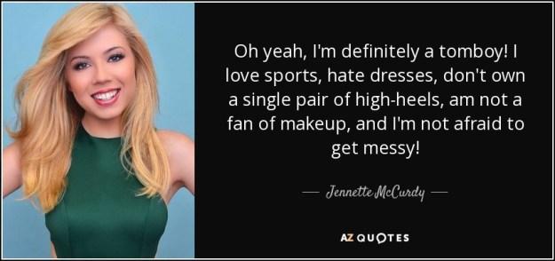 Tomboy Jennette McCurdy
