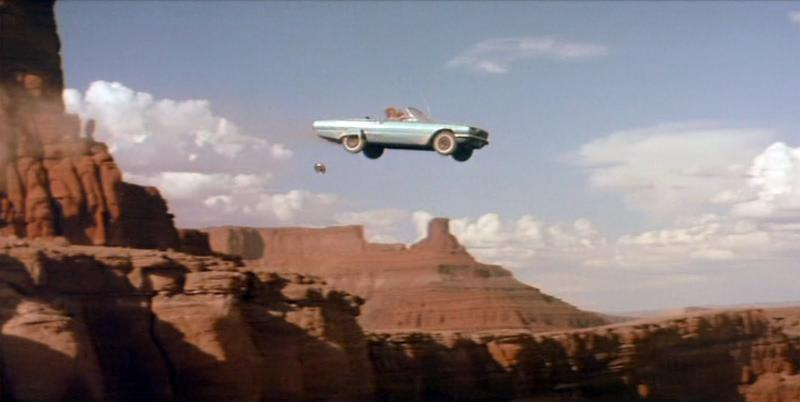 Thelma and Louise ending