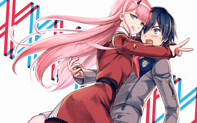 Zero Two and Hiro