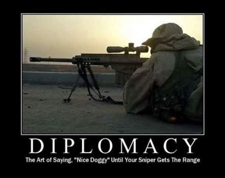 Machine Gun diplomacy
