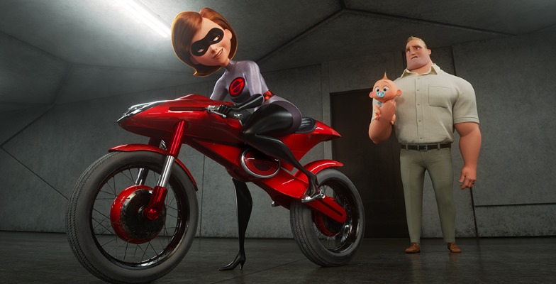 "Elastigirl goes to work in ""Incredibles 2"""