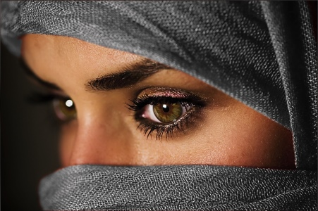 Islamic woman, by Naderbellal1