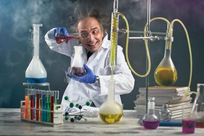 Mad Scientist at work
