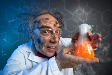 A mad scientist recommends - dreamstime_s_99011597