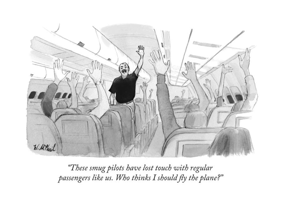 New Yorker cartoon- Will McPhail