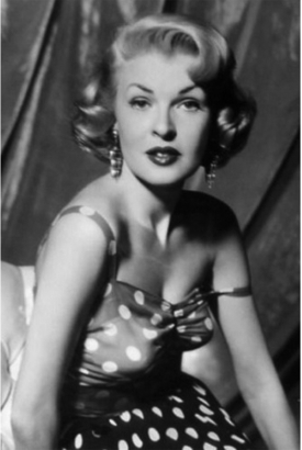 "Peggy Knudsen was Mona Mars in ""The Big Sleep."""