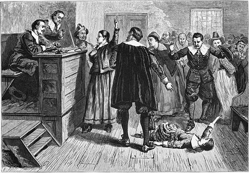 Salem Witch Trial by William A. Crafts (1876)