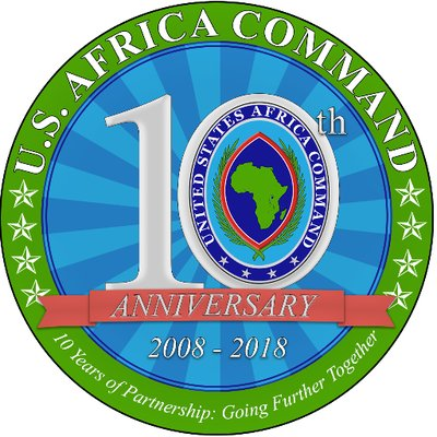 Africom 10th Anniversary Logo
