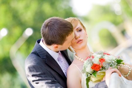 Bride and groom - dreamstimefree_6147576