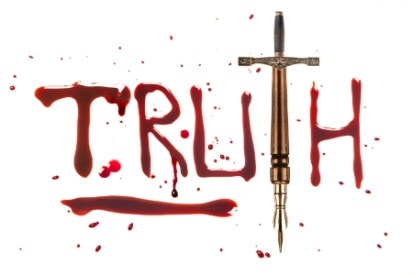 Truth paid for in blood - dreamstime_24169126