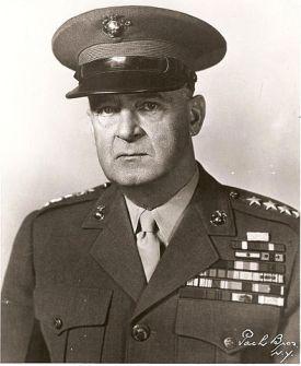 General Alexander Vandegrift, USMC