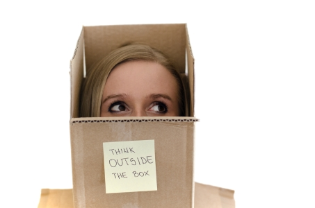 Thinking Outside the Box - dreamstime_26972975
