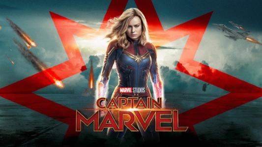 """""""Captain Marvel"""" poster"""