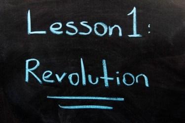 Lesson One: Revolution - dreamstime_50435521
