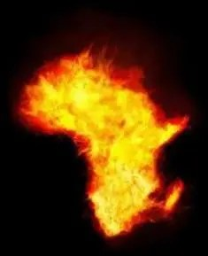 Africa burning